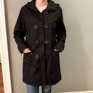 Hooded Canvas Trench